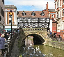16th century-High_Bridge,_High_Street,_Lincoln